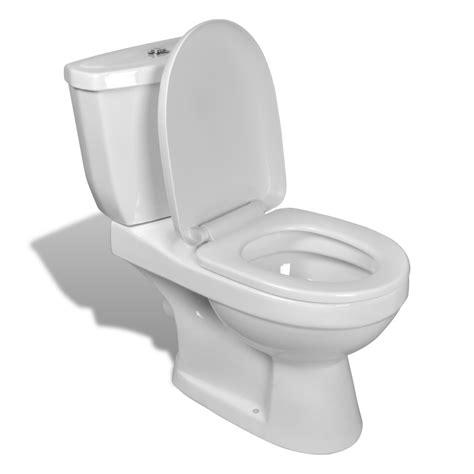 bagno bidet toilet wc vaso water copri sanitari con cisterna in ceramica bianco ebay