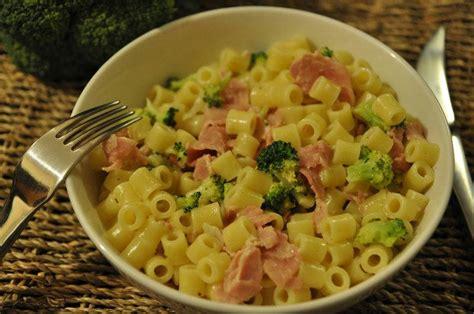 recette p 226 tes aux brocolis et jambon