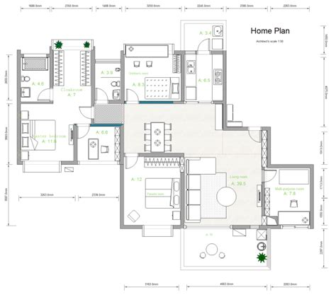 House Plan  Free House Plan Templates