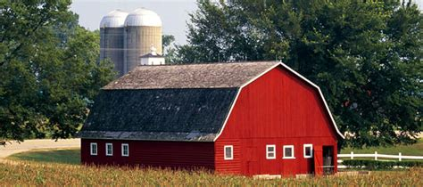Diurnalearn Why Are Barns Red?