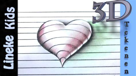 3d Tekenen : Bekend Tekeningen Om Na Te Tekenen Love Nf53