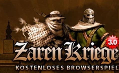 Zarenkriege Test  Browsergame Magazin