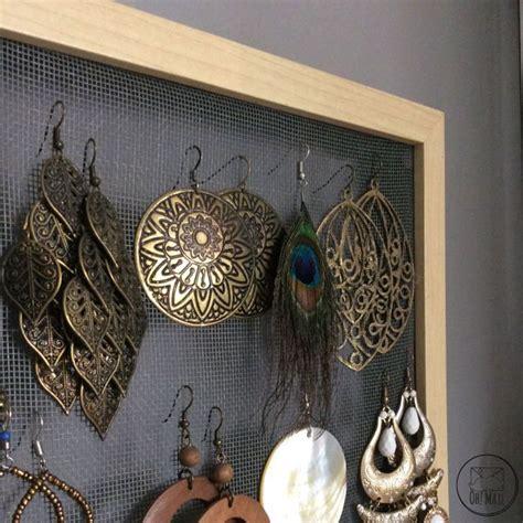 diy un pr 233 sentoir 224 boucles d oreilles en grillage bijoux bricolage et