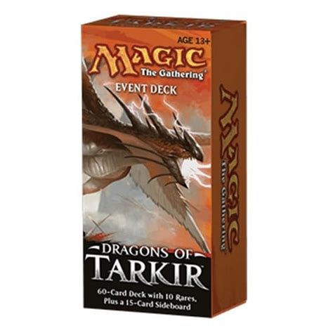 dragons of tarkir event deck magic the gathering from magic madhouse uk