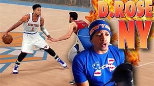 DERRICK ROSE Traded to the New York KNICKS - NBA 2K16 ...