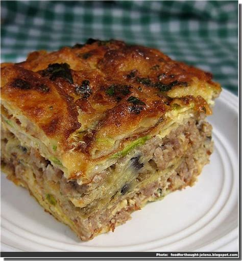 recette de moussaka serbe sprska musaka cuisine serbe