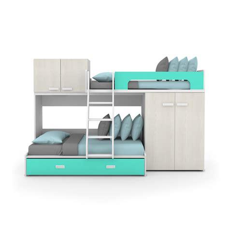 lit superpos 233 avec armoire lit pour enfant lits ameublement enfant espace enfant b 233 b 233 le