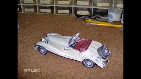 Mercedes Benz 500k Paper Model