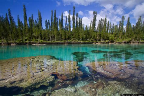 crumbling ruins and coral cliffs are beckoning us to explore new caledonia huffpost