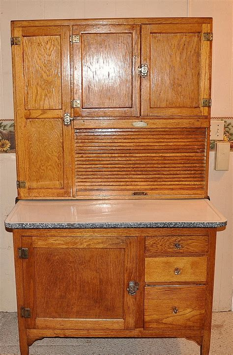 hoosier cabinet i found this hoosier style cabinet on crai flickr