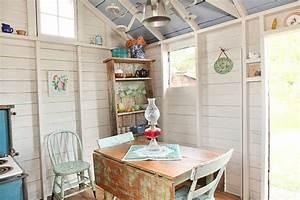 Gartenhaus Shabby Chic : shed turned guest space shabby chic style gartenhaus kolumbus von julie ranee photography ~ Markanthonyermac.com Haus und Dekorationen
