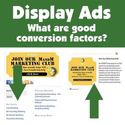 Display Ads  What Are Good Conversion Factors