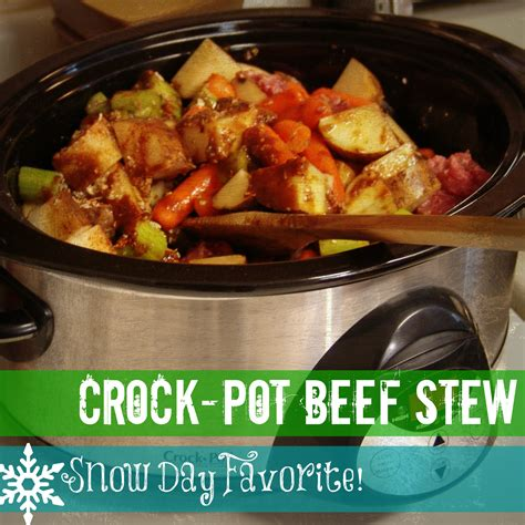 beef stew in the crock pot recipe dishmaps