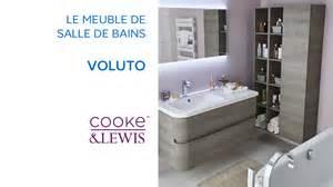 meuble de salle de bains voluto cooke lewis 690574 castorama