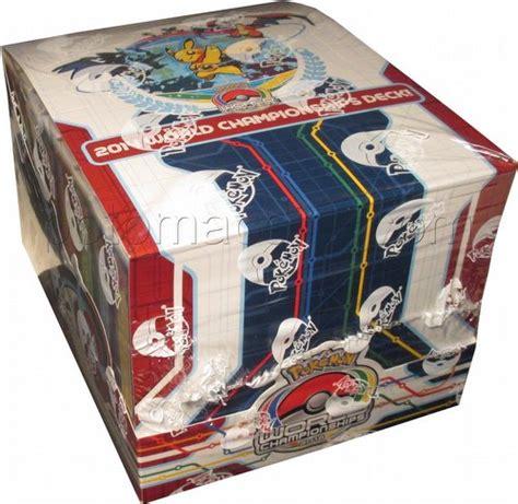 2014 world chionships starter deck box