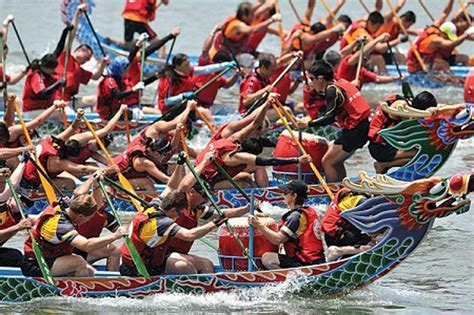 Dragon Boat Racing East London by A Race Of Dragons Cyprus Mail