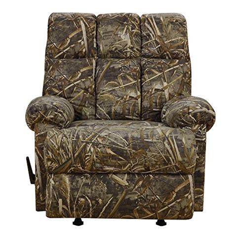 dorel living real tree camouflaged rocker recliner