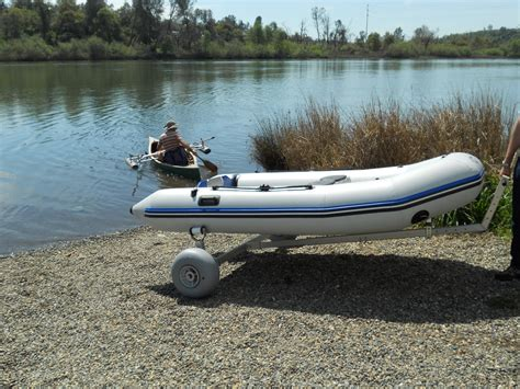 Zebec Inflatable Boats For Sale by Boat Dolly With 30cm Wheels Beachwheels Australia