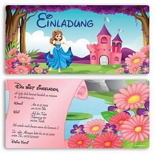 Einladung Kindergeburtstag Gestalten : einladung zum geburtstag prinzessin karte einladungskarten kindergeburtstag ebay ~ Markanthonyermac.com Haus und Dekorationen