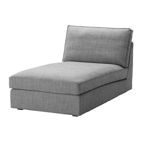 kivik chaise longue isunda grey ikea