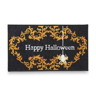 Essential Home Halloween Entrance Doormat Happy
