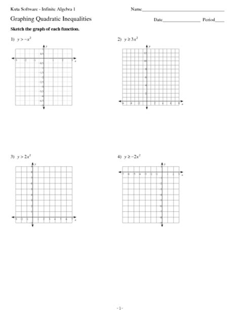 100+ [ Graphing Quadratics Review Worksheet Answers ]  Solve Quadratic Equations By Graphing