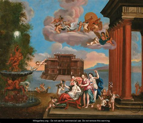 the toilet of venus 2 after francesco albani wikigallery org the largest gallery in the world