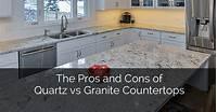 quartz vs granite countertops Pros and Cons of Quartz vs Granite Countertops: The ...