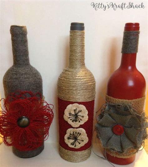 bottle deco and decorative wine bottles on