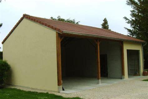 abri de jardin avec preau pajibe beton