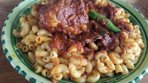 recette de p 226 tes 224 la tunisienne makrouna salsa
