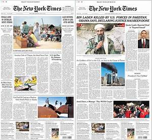 The Front Page of the 'New York Times' Before Bin Laden ...