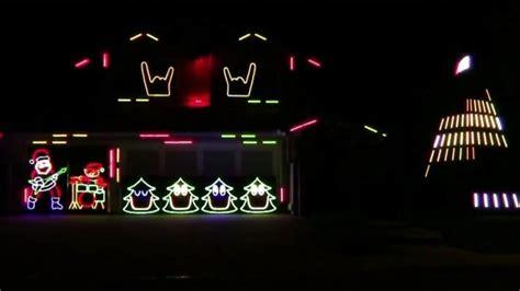 Slayer Bob's Christmas Lights Display Will Make You Headbang