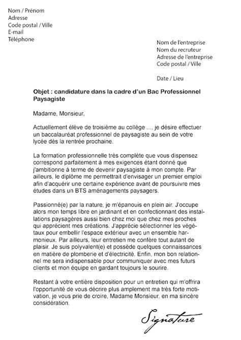 8 lettre motivation cadre lettre administrative