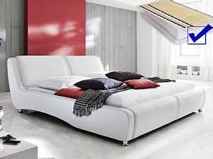 Bett 160x200 Komplett Günstig : polsterbett wei g nstig sicher kaufen bei yatego ~ Markanthonyermac.com Haus und Dekorationen