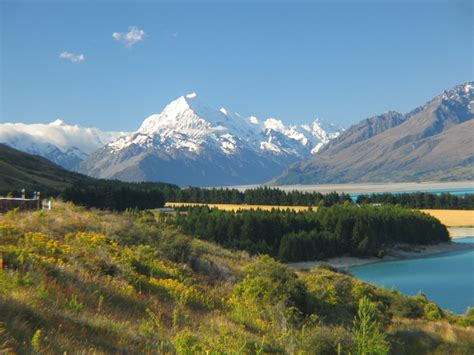 Travel Trip Journey Mount Cook; New Zealand