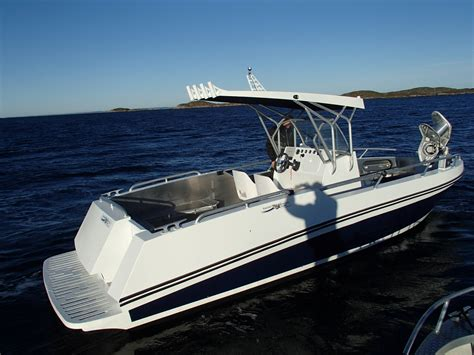 Aluminium Boot Norwegen die boote mikkelvik