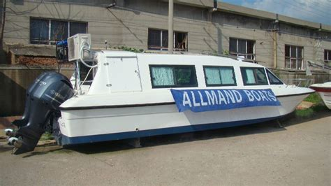 Best Cabin Boats Under 50k by Luxury Limo Boats Allmand Boats
