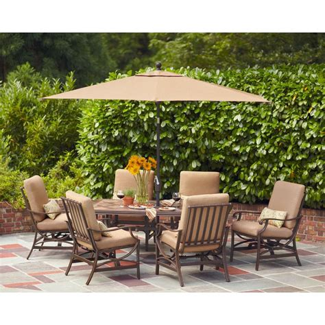 Patio Furniture River Sc by Hton Bay Fall River 7 Patio Dining Set 1888