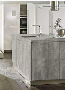 Küche Beton Holz : beton cir g nstige arbeitsplatte in beton optik arbeitsplatten aus beton pinterest ~ Markanthonyermac.com Haus und Dekorationen