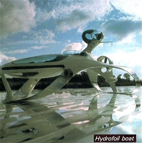 What Does Hydrofoil Boat Mean by Luigi Colani Inspiration