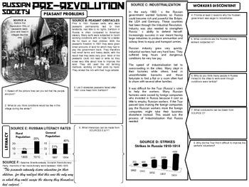 Russian Revolution Dbq By Captivating History Lessons By