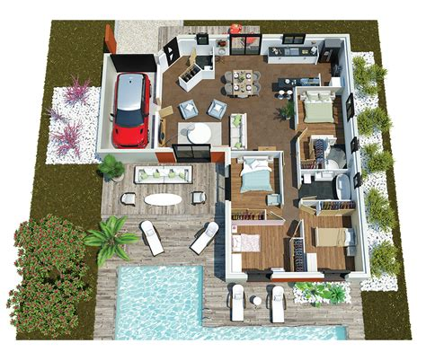 ouleurs villa vous propose la villa mae moderne contemporaine cette maison est id 233 ale pour des