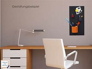 Metall Deko Wand : magnettafel aus metall anthrazit memoboard wand aufbewahrung deko kalamitica ebay ~ Markanthonyermac.com Haus und Dekorationen
