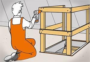 Treppe Zum Dachboden Einbauen : bodentreppe einbauen in 6 einfachen schritten mit obi ~ Markanthonyermac.com Haus und Dekorationen