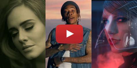 Most Popular Music Videos Of 2015