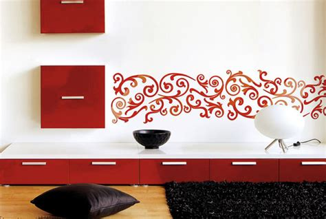 wall painting stencil geometric pattern for wall by stencilslabny pochoir mural a peindre