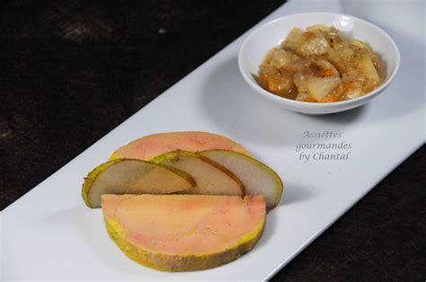 decoration assiette de foie gras photo