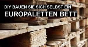 Bett Aus Europaletten Selber Bauen 140x200 : europaletten bett bauen anleitung zum selbermachen ~ Markanthonyermac.com Haus und Dekorationen
