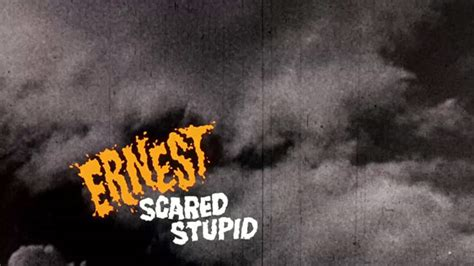 Ernest Saves Halloween by Ernest Scared Stupid 1991 Art Of The Title